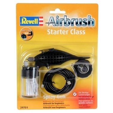 Revell Revell Spray Gun Air Brush Starter Class Renkli